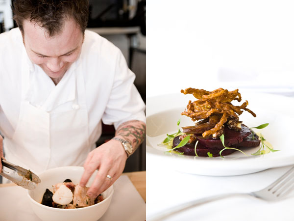 Chef Nick Hodge of Kitchenette and Icehouse restaurants in Montreal © Kitchenette Montreal