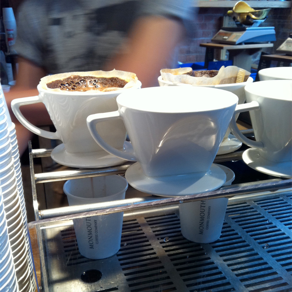monmouth coffee london © Will Travel for Food
