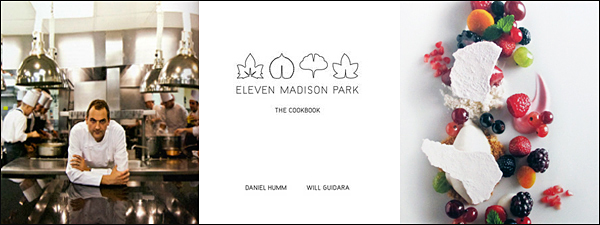 eleven madison park cookbook