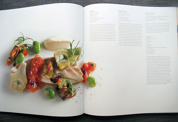 Review and recipe from the eleven madison park cookbook for Canape cookbook