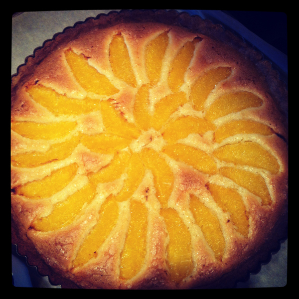 Orange almond tart by Dorie Greenspan © Will Travel for Food