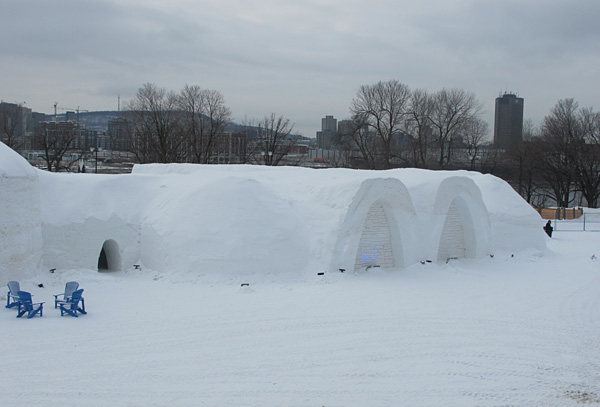 Montreal's snow village © Will Travel for Food