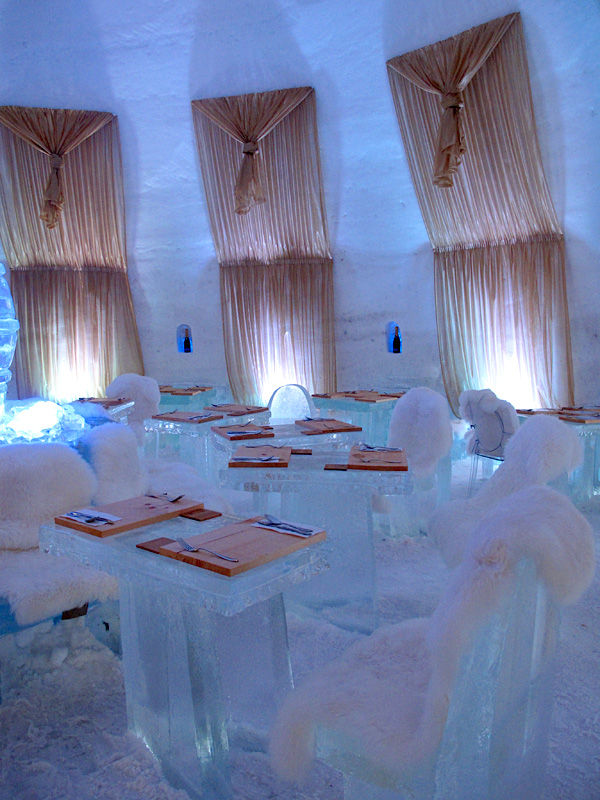 Pommery ice restaurant © Will Travel for Food