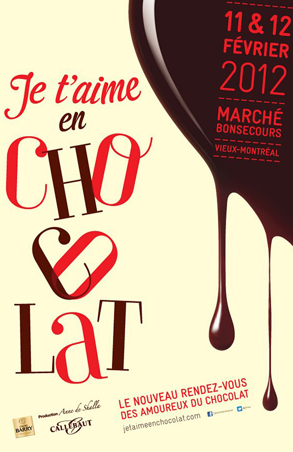Montreal's chocolate show Je t'aime en chocolat © Will Travel for Food