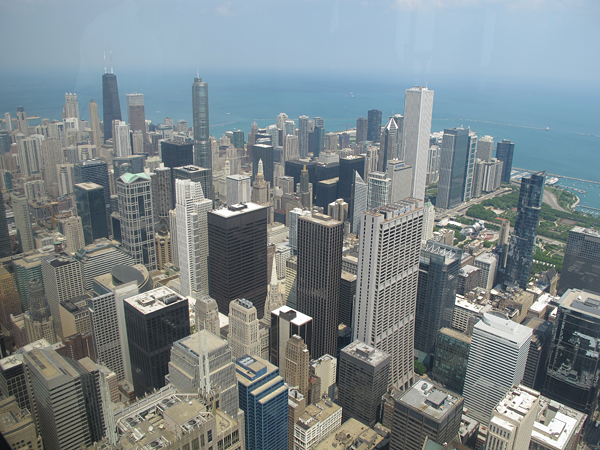 chicago willis tower © Will Travel for Food