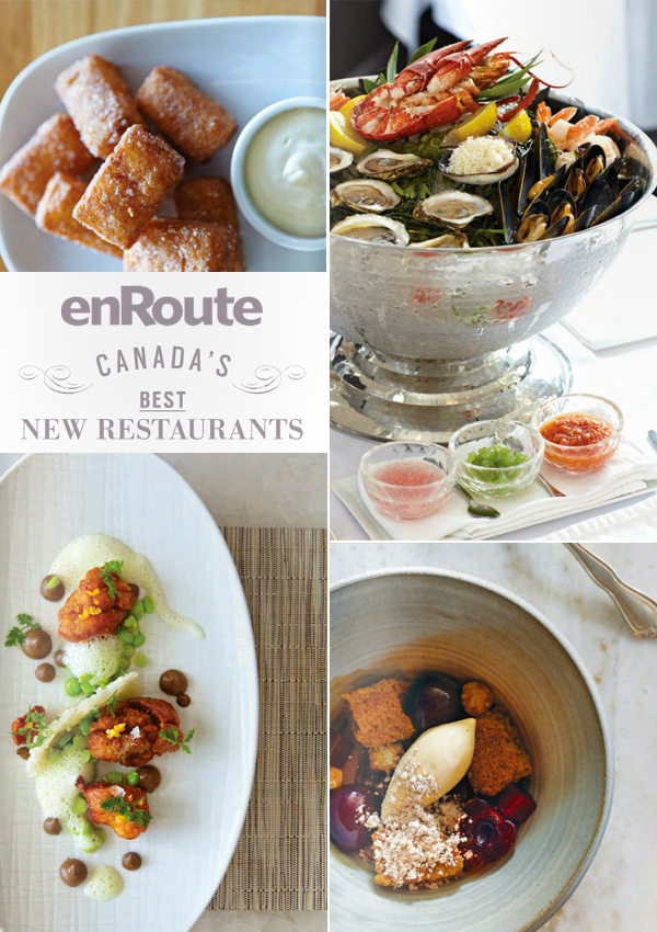 enroute best new restaurant canada list