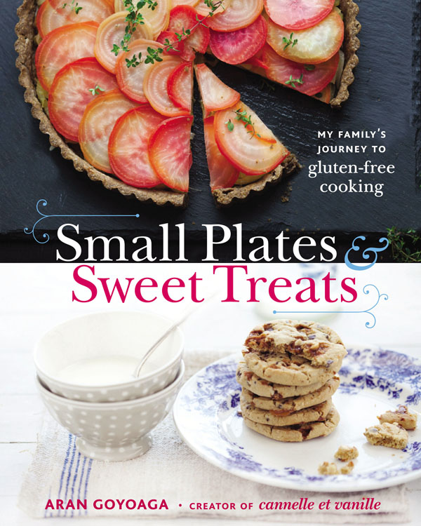 small plates & sweet treats cookbook review