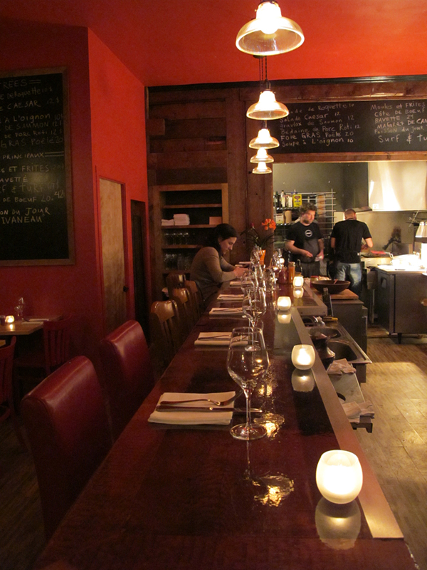 restaurant gus montreal © Will Travel for Food