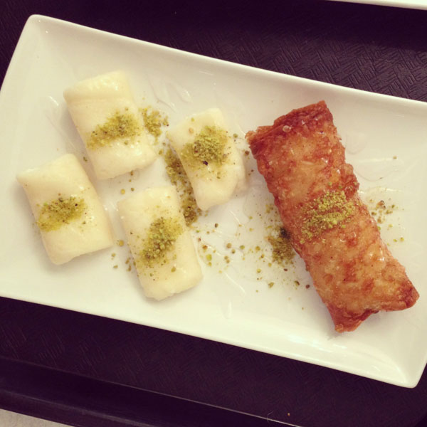 lebanese sweets montreal © Will Travel for Food