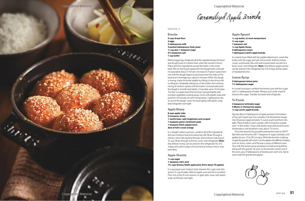 A sneak peak inside I Love New York: Recipes and Ingredients (copyright material)