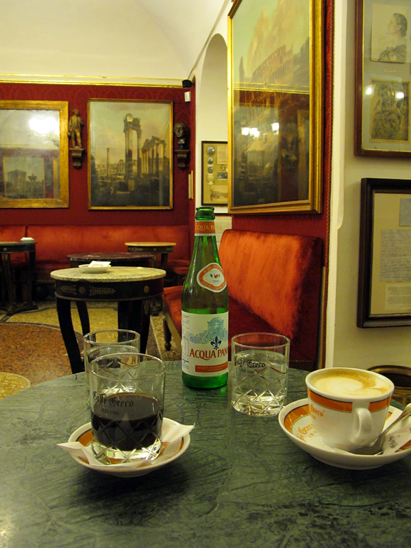 antico greco best caffe rome © Will Travel for Food