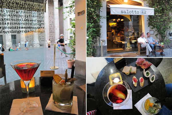 rome best bar aperitivo © Will Travel for Food