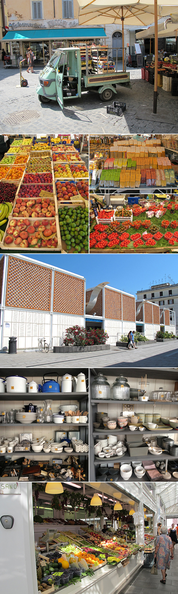 rome markets © Will Travel for Food