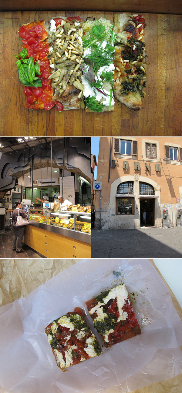 rome pizza © Will Travel for Food
