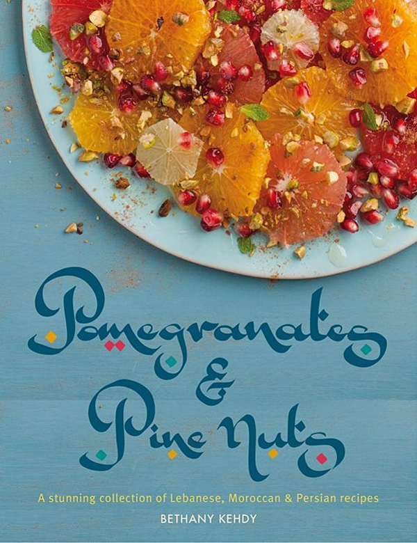 pomegranates and pine nuts cookbook
