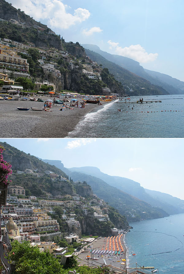 amalfi coast beaches © Will Travel for Food