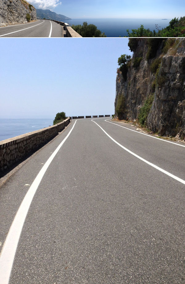 amalfi road © Will Travel for Food