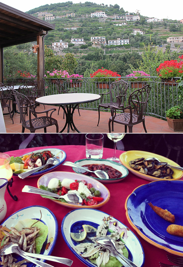 lorenzo restaurant ravello © Will Travel for Food