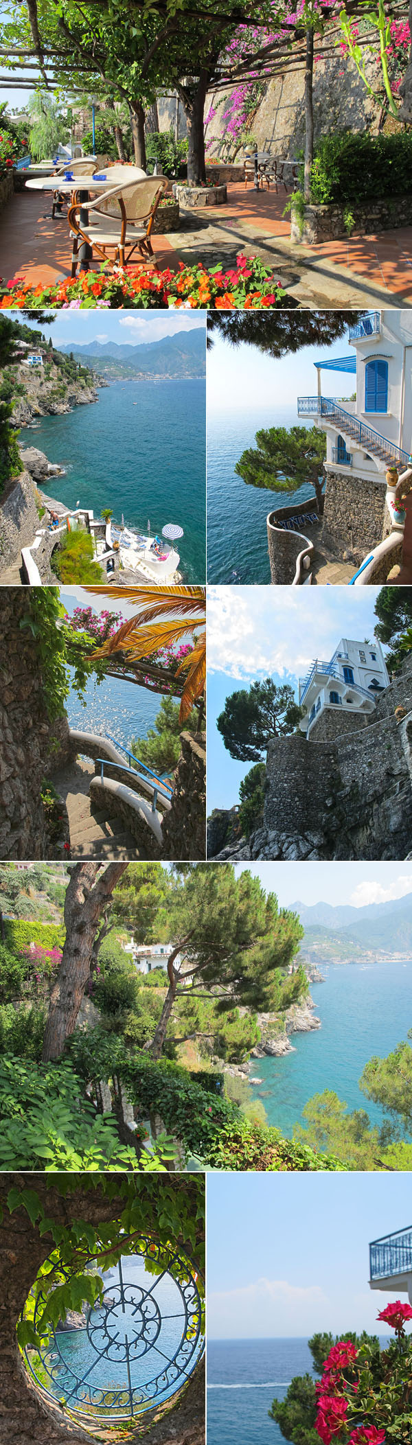 ravello hotel san michele amalfi © Will Travel for Food