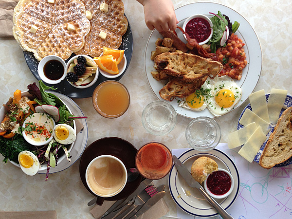 cafe bloom brunch montreal © Will Travel for Food