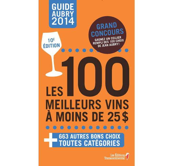 les 100 meilleurs vins guide jean aubry © Will Travel for Food