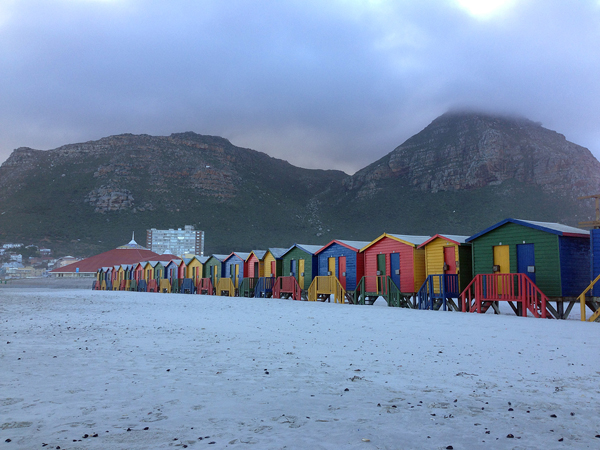muizenberg beach western cape south africa © Will Travel for Food