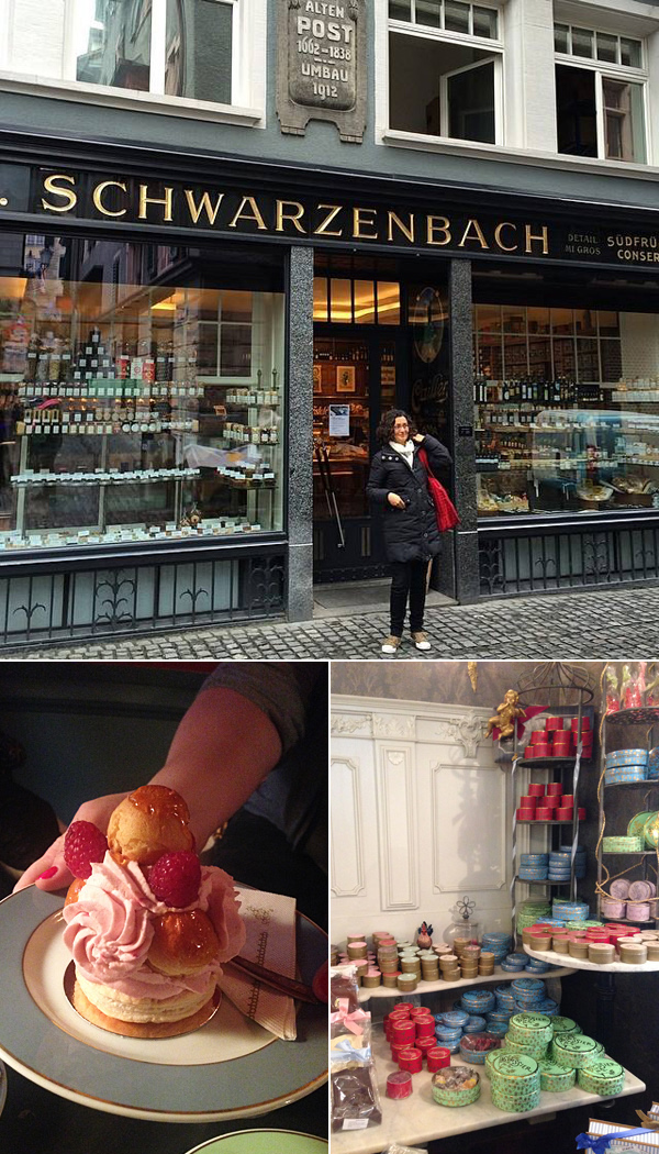 zurich cafes pastry shops © Will Travel for Food