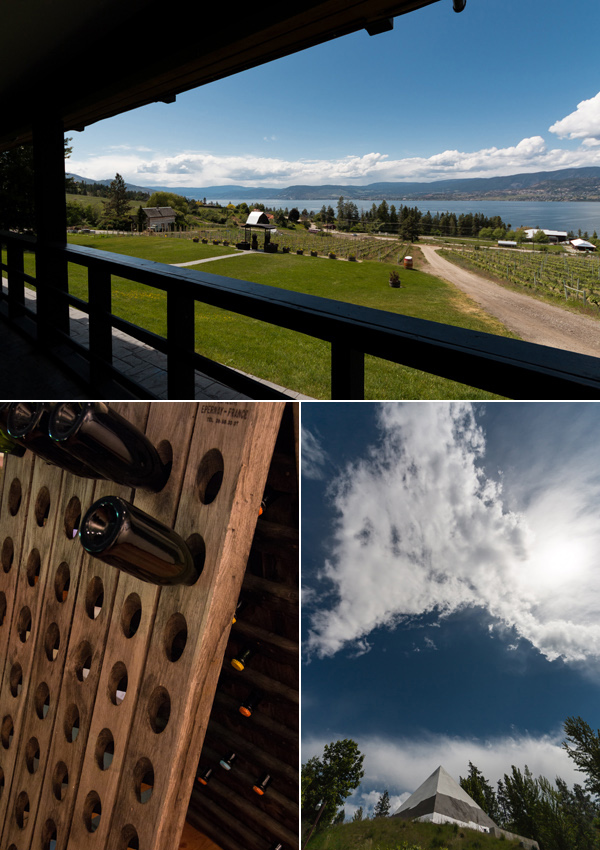 summerhill winery kelowna okanagan valley © Will Travel for Food
