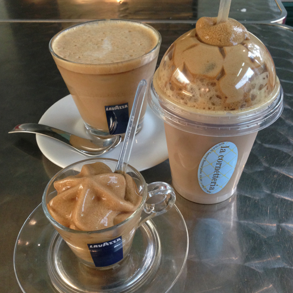 best iced latte la cornetteria montreal © Will Travel for Food