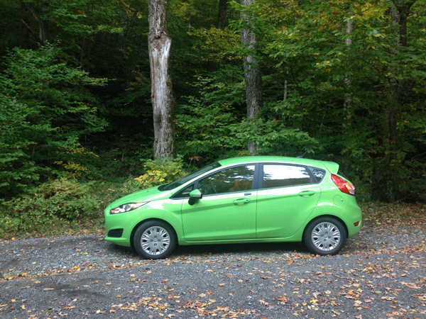 ford fiesta quebec © Will Travel for Food