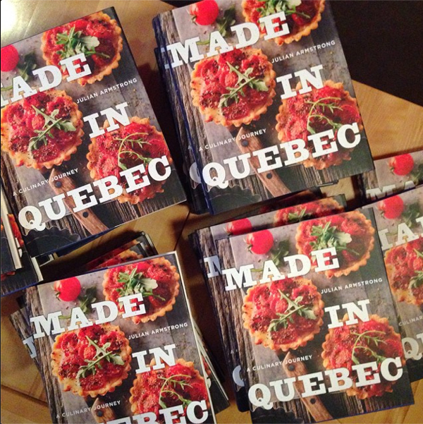 made in quebec julian armstrong cookbook © Will Travel for Food