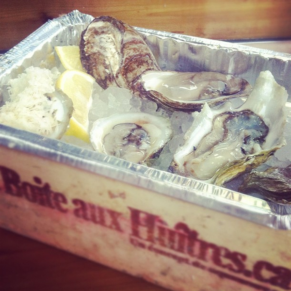boite aux huitres best oysters montreal © Will Travel for Food
