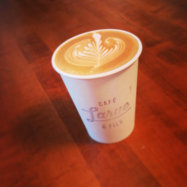 cafe larue best coffee montreal © Will Travel for Food