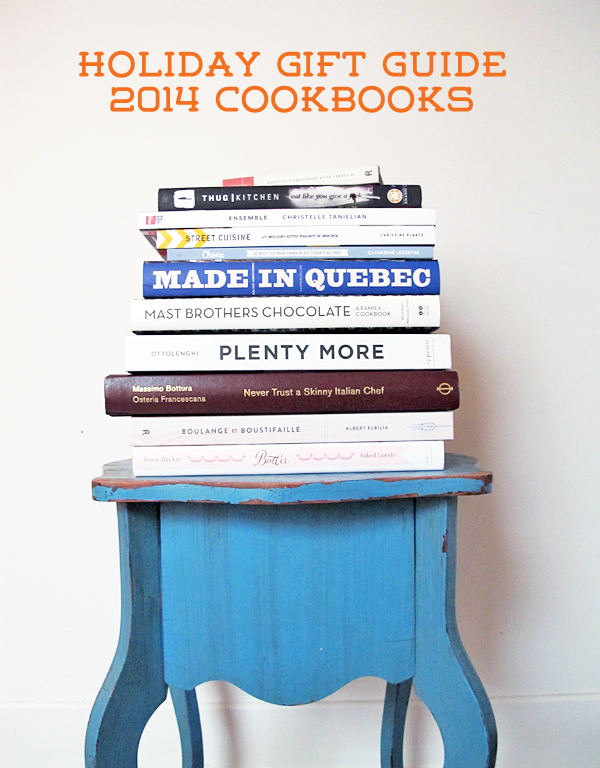 Holiday gift guide 2014 best cookbooks © Will Travel for Food