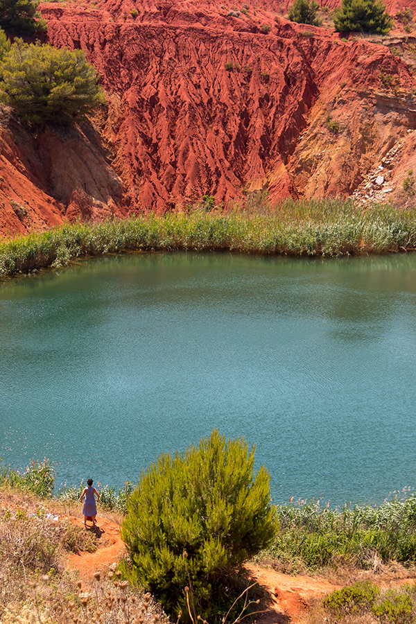 bauxite lake otranto puglia © Will Travel for Food