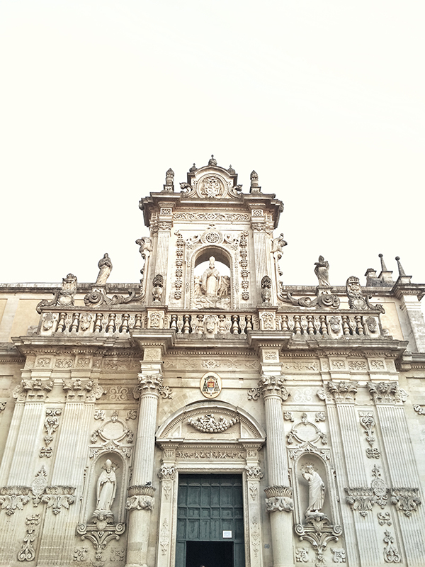 lecce piazzo del duomo © Will Travel for Food