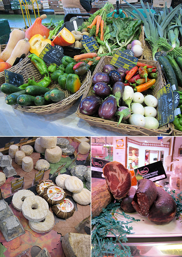pau france les halles market © Will Travel for Food