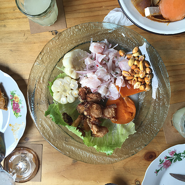 best ceviche lima isolina taberna peruana © Will Travel for Food