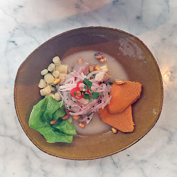 best ceviche restaurant tanta lima © Will Travel for Food