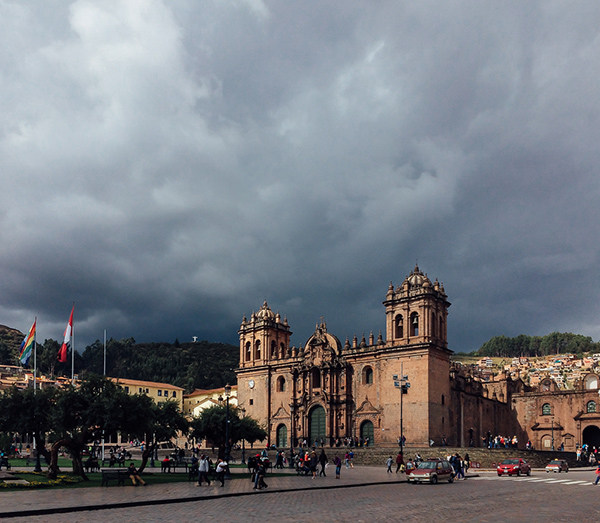 cusco cathedral plaza de armas © Will Travel for Food