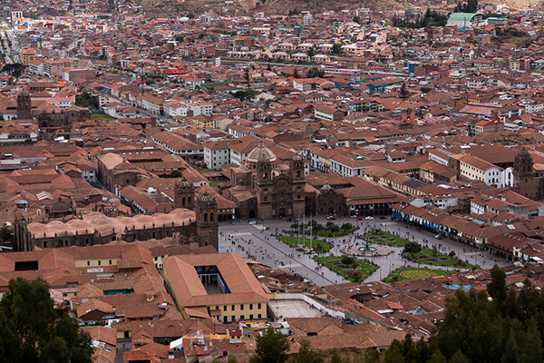 cusco plaza de armas © Will Travel for Food