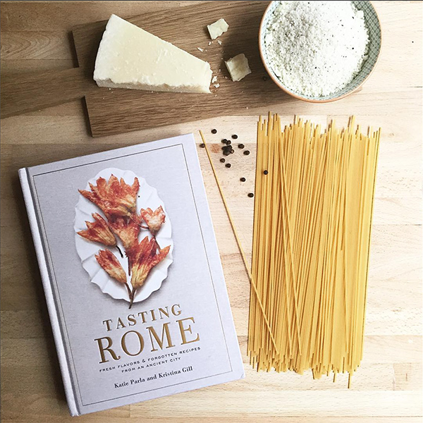 tasting rome italian recipe cookbook © Will Travel for Food