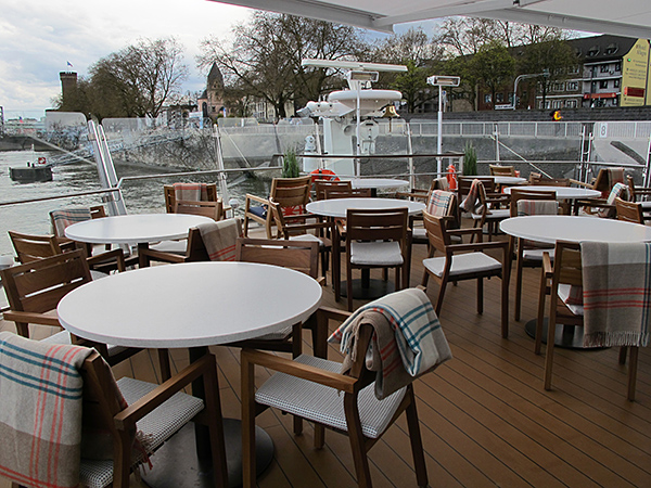 sun deck viking river cruises longships © Will Travel for Food