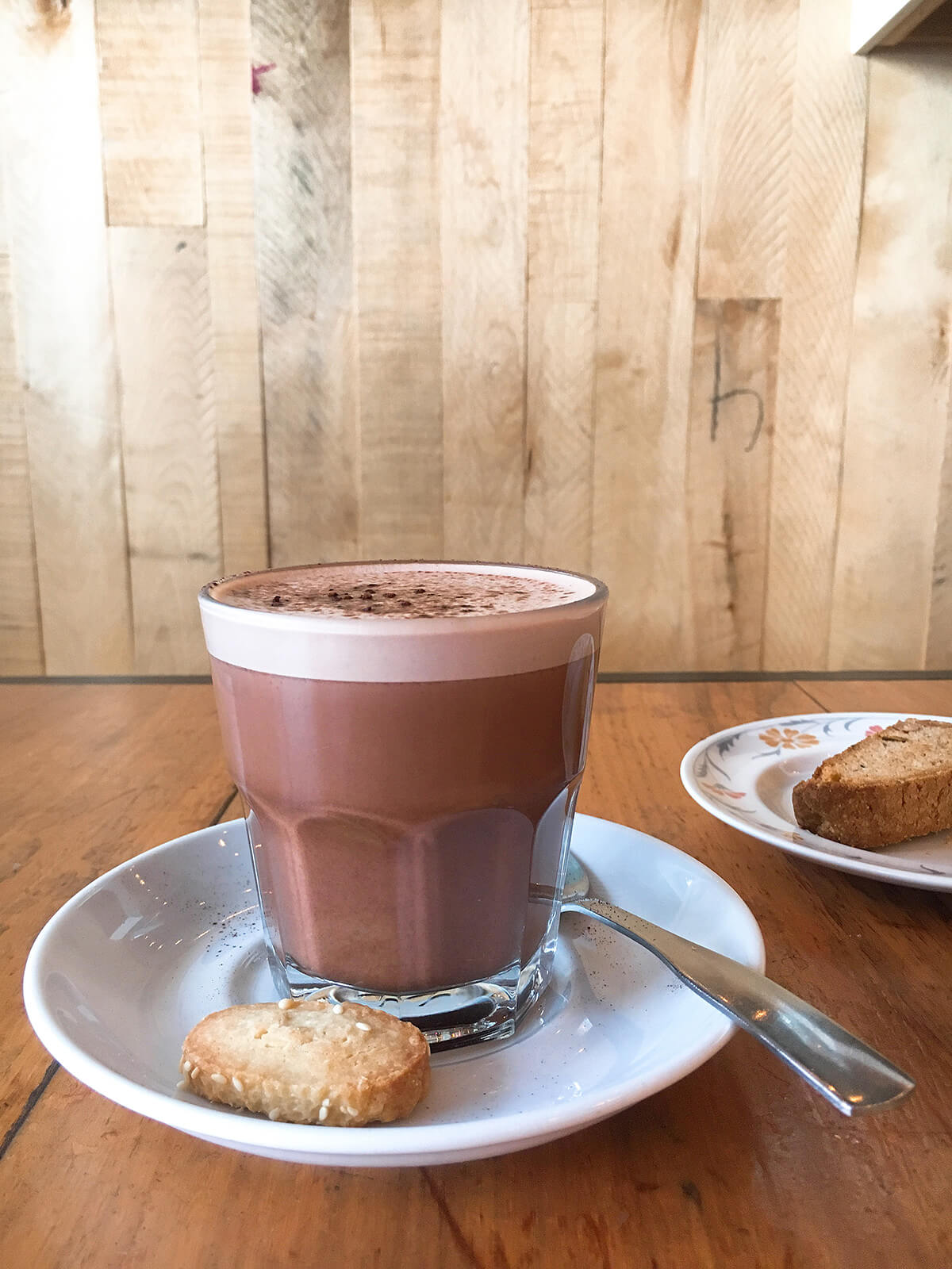 best-vegan-hot-chocolate-montreal-cafe-dei-campi © Will Travel for Food