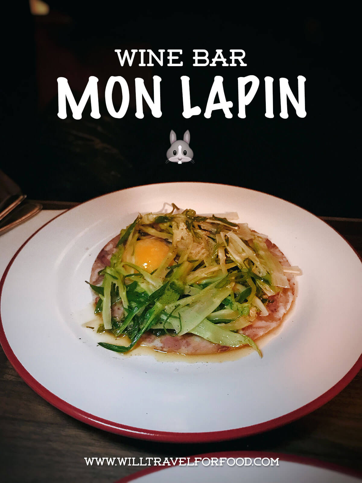 wine-bar-mon-lapin-montreal © Will Travel for Food