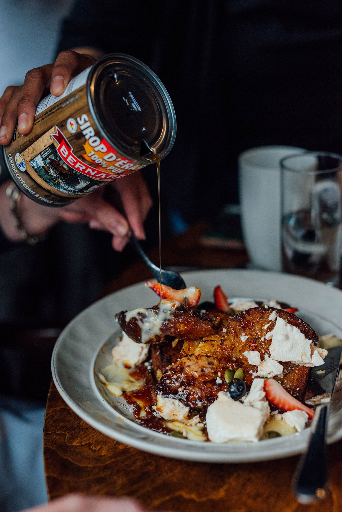 Caribou-Gourmand-Best-Sugar-Shack-Montreal © Will Travel for Food
