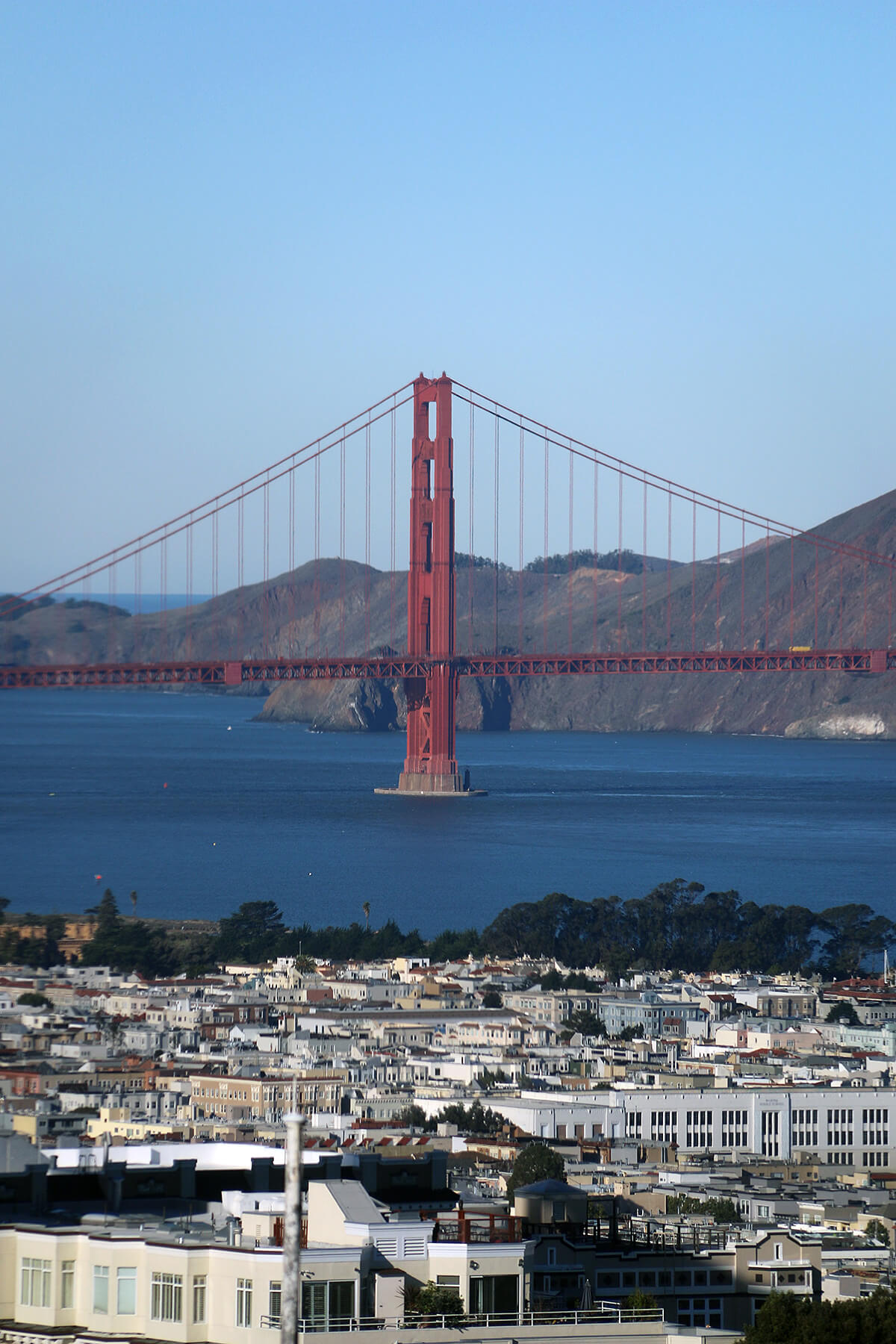 San Francisco's Golden Gate Bridge © Will Travel for Food