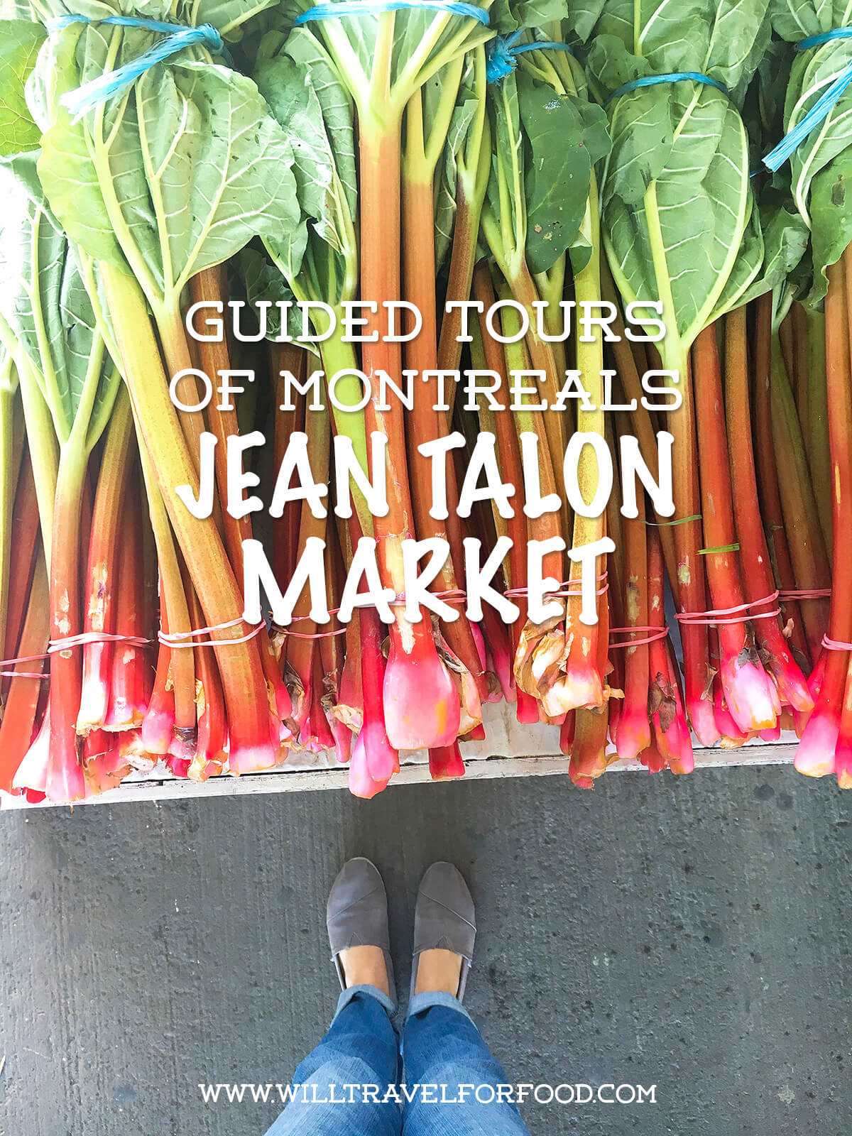 Guided tours of Montreal's Jean Talon Market with a food writer © Will Travel for Food