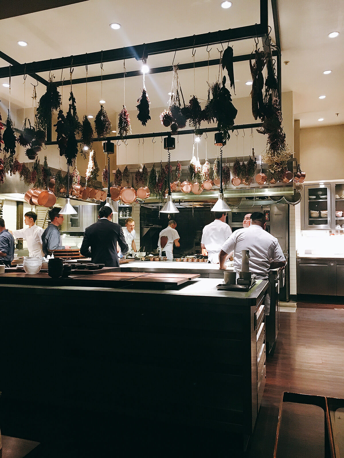 The kitchen at 3 Michelin-star Saison | Will Travel for Food