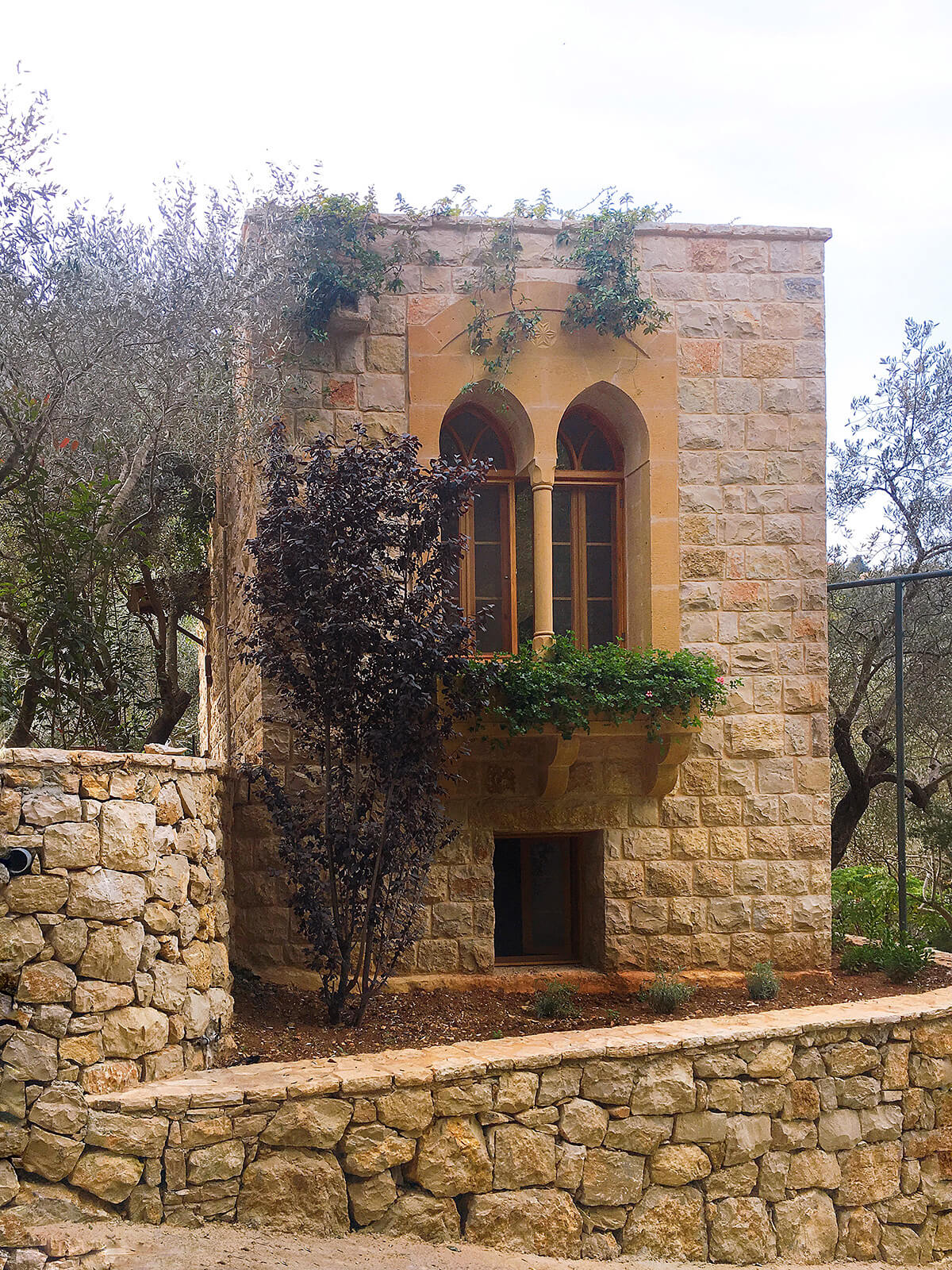 One of Bouyouti's villas for rent in Lebanon's Chouf district
